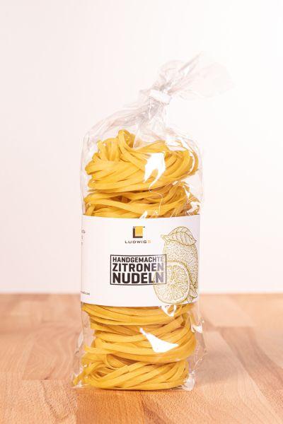 Zitronen-Tagliatelle